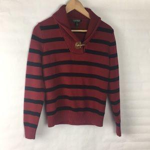 Ralph Lauren cowl neck sweater. Size M